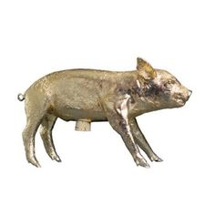 Areaware Gold Pig Bank