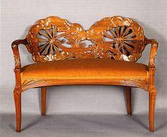mobilier art nouveau on pinterest art nouveau art nouveau furnitur. Black Bedroom Furniture Sets. Home Design Ideas