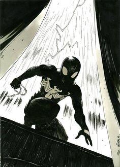 Black spiderman - Marvel
