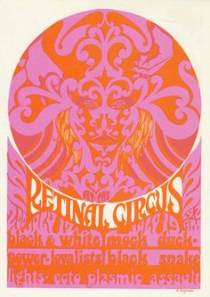 Retinal Circus Vancouver Canada, 1967 Jul 17: Black and White Power / The Loyalist. Art by Steve Saymour.