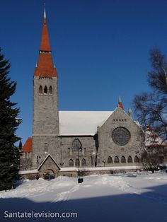Europe Video Production photo: cathedral of Tampere in Finland - well-known Finnish church in the City of Tampere - Visit Tampere tourism Helsinki, Lappland, Photo Voyage, Finland Travel, Church Pictures, Lapland Finland, Worldwide Travel, Chapelle, Place Of Worship