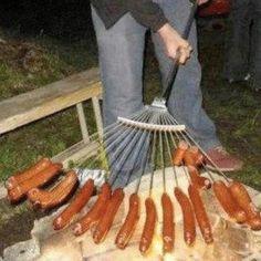 Redneck wiener roast!!!