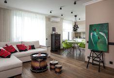 Otthonos, modern, egyedi lakberendezés 50m2-en, meleg színekkel, minőségi, szép megoldásokkal