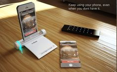 AirDock for iPhone by Kevon Brown, via Behance