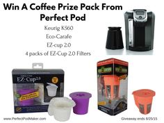 Enter to #win a Perfect Pod Prize pack #SummerGuide #giveaways