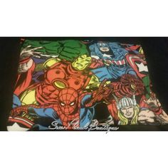 Check out this item in my Etsy shop https://www.etsy.com/listing/231739274/super-hero-pillowcase-fleece-pillowcase