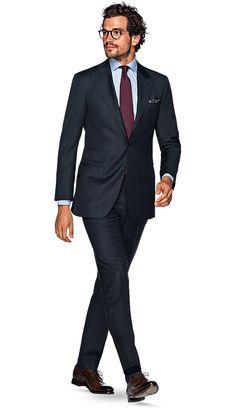 Suit Blue Plain Washington P2778wi   Suitsupply Online Store