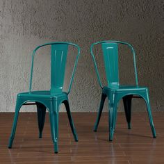 Tabouret Bistro Peacock Side Chairs (Set of 2) - Overstock™ Shopping - Great Deals on Dining Chairs