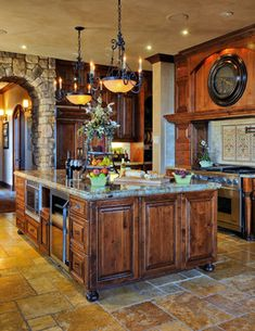 Tuscan Kitchen and Outdoor Living - mediterranean - kitchen - san diego - Lars Remodeling & Design
