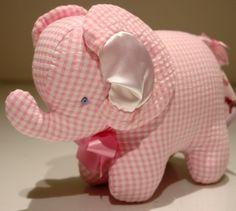 elephant #gingham