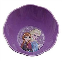 Disney Anna and Elsa Bowl | Disney StoreAnna and Elsa Bowl - Serve up smiles morning, noon and night with our <i>Frozen</i> Bowl. Meals are so much more fun with Anna and Elsa for company.