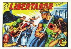 El Libertador, colección de 20 números, publicados en 1950 por Editorial Garga