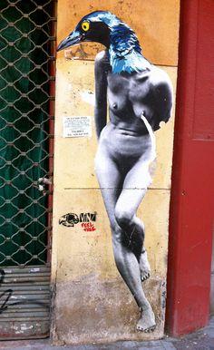 street art by VINZ