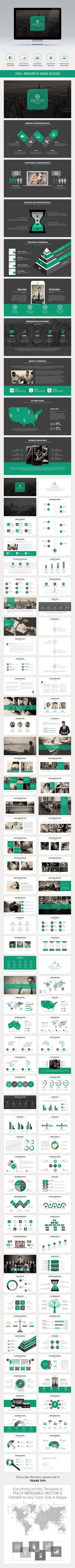 Majestic PowerPoint Template is suitable for any Business Presentations. #MajesticPowerPoint #1studio #GraphicRiver