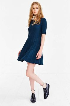 Cooperative Grace Swingy Sweater Dress - Urban Outfitters