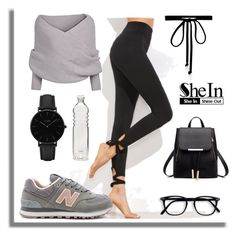 URBAN CHIC by minah007 on Polyvore featuring polyvore fashion style New Balance CLUSE Joomi Lim clothing
