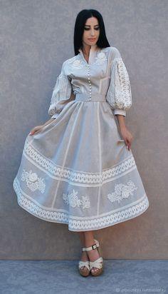 Elegant dress with lace Lovely Dresses, Stylish Dresses, Simple Dresses, Elegant Dresses, Day Dresses, Vintage Dresses, Casual Dresses, Prom Dresses, Boho Fashion