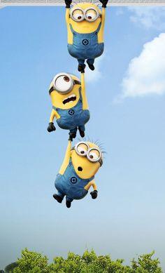 Art cartoon fun despicable me minions 2015 blue yellow hd iphone 6 plus wal Minion Theme, Minion Movie, Minions Despicable Me, Minion Birthday, Minion Party, My Minion, Minion Room, Happy Birthday, Cute Minions Wallpaper