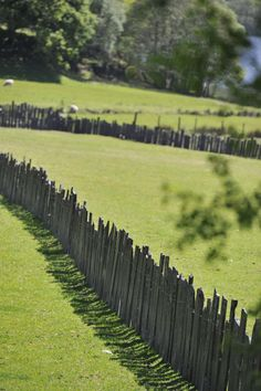 Slate fencing in Snowdonia