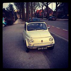 Old Fiat 500. I love it!