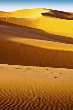 Dunas en el Sahara, Argelia.