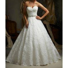 Sexy white / ivory lace A-line Wedding Dress Custom Size 6 8 10 12 14 16 18 20 + + +