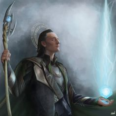 """""""I am Loki, of Asgard, and I am burdened with glorious purpose. Have abandoned it in disgust, th. Loki, Purpose, Game Of Thrones Characters, Batman, Fan Art, Deviantart, Superhero, Fictional Characters, Star Wars"""