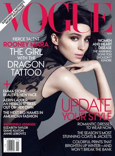Vogue November 2011 Rooney Mara
