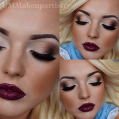 I have all the colours in my Aloette make up kit to make this look happen on someone!