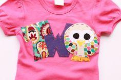 Owl birthday shirt 2nd 2  t shirt girl pink by codysboutique, $24.99
