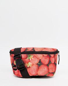 Image 1 - Mi-Pac - Sac banane motif fraises