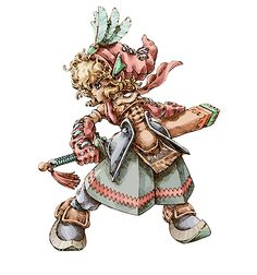 Legend of Mana - Hero