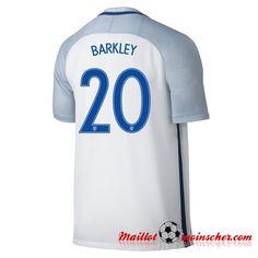 ffd0620bb0e24 Replica: Nouveaux Maillot Equipe de Angleterre BARKLEY 20 Domicile 2016  2017 fr-moinscher