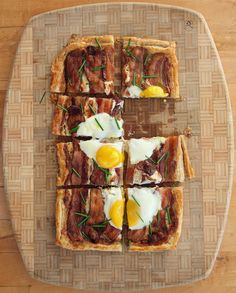 Winter Breakfast: Classic Egg Tart Recipe with Bacon & Chives