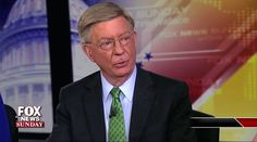 """Conservative columnist George Will made his first on-air comments on """"Fox News Sunday"""" after announcing Saturday his decision to leave the GOP."""