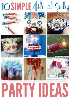 Pretty Providence | A Frugal Lifestyle Blog: Fourth of July Party Ideas
