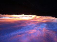 Winter Sky Over Petaluma - 2011
