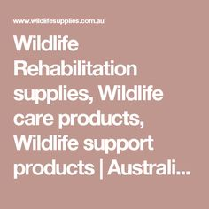 Help our unique wildlife survive by purchasing our wildlife rehabilitation support products or learn how to help our endangered species by purchasing one of our native wildlife books. Love My Job, My Animal, Animal Rescue, Wildlife, Tech, Australia, Nature, Diy, Products