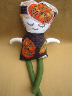 Harvest Doll by DollsandMonsters on Etsy, $20.00