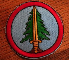 TWIN PEAKS PROPS: Bookhouse Boy Patch (Original)
