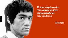 No tener ningún camino como camino, no tener ninguna limitación como limitación. – Bruce Lee #brucelee #bruceleequotes #kurttasche