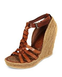 Sam Edelman Leroy Chestnut Lea size 8 Only worn a handful of times and in excellent condition! No stains or discoloration on the woven heels. Very comfortable! Come with original box Sam Edelman Shoes Espadrilles, Espadrille Sandals, T Strap Sandals, Wedge Sandals, Ankle Strap, Shoes Sandals, Tan Wedges, Strappy Wedges, Stylish Boots