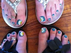 Kind of addicted to my pedicures!