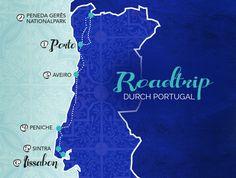 12 Tage mit dem Mietwagen von Nord nach Süd durch Portugal: Hier findest du alle Artikel zu unserem Road Trip von Porto bis nach Lissabon...