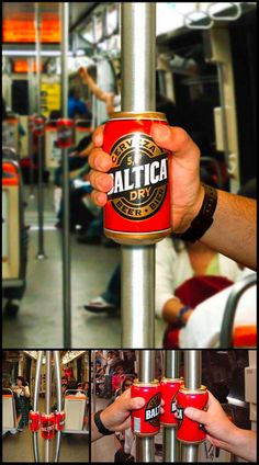 Had a rough day? Grab a beer on your way home. Guerilla Marketing by Sepia in Chile
