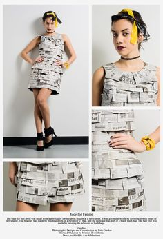 newspaper dress #1.