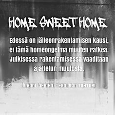 Taistelu homehyssyttelyä vastaan on aloitettava. #home #sisäilma #astma #keuhkotauti #hometalo #fb  #t