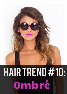 2013 Hair Trend #10: Oh, la la, Ombré! #Ombre, meaning shade in French, is a popular hair trend that will still see a lot of demand in 2013. Luckily, this trend is versatile with the ombré shading ranging subtle to more bold.
