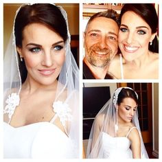 My beautiful Bride .......radiant makeup and magnetic eyes ....#makeup…