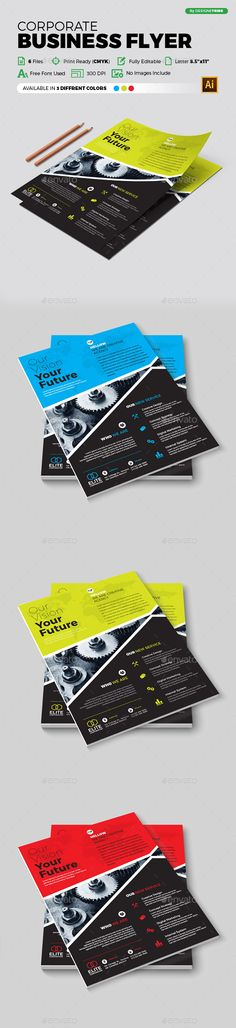Flyer – Multipurpose 318 - #Flyers Print Templates Download here: https://graphicriver.net/item/flyer-multipurpose-318/20062078?ref=alena994